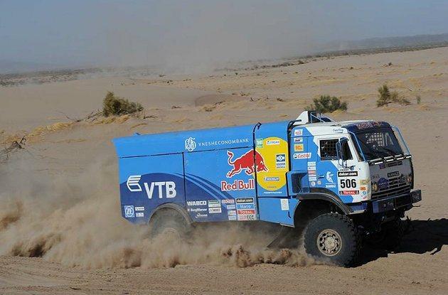 卡車組為Kamaz俄羅斯選手 Andrey Karginov奪冠。 Dakar ...