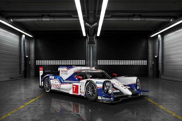 Toyota全新油電複合動力戰馬TS040 Hybrid。 Toyota提供