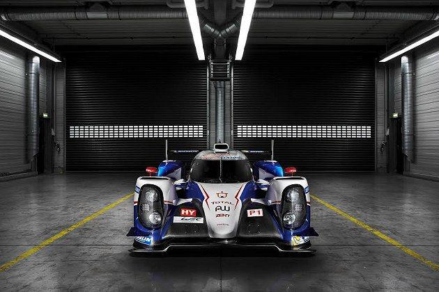 TS040 Hybrid有480PS 馬力的四驅複合動力系統,油電綜效最大馬力1000PS。 Toyota提供