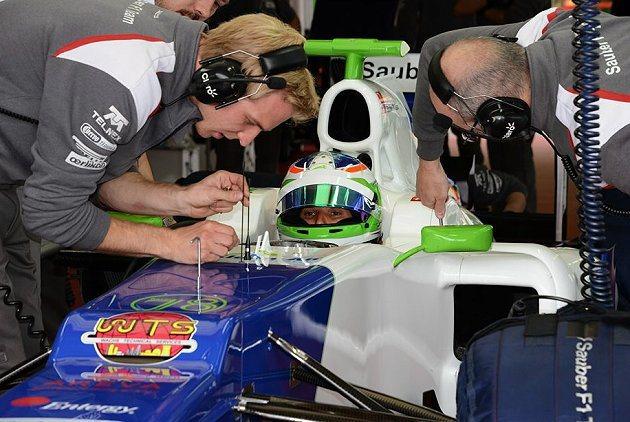 駕駛F1賽車後讓Simona感到相當滿意。 F1官網