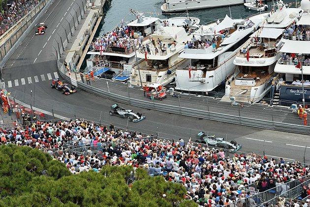 摩納哥Monte Carlo賽道是街道型賽道,難度頗高且不容易超車。 F1官網