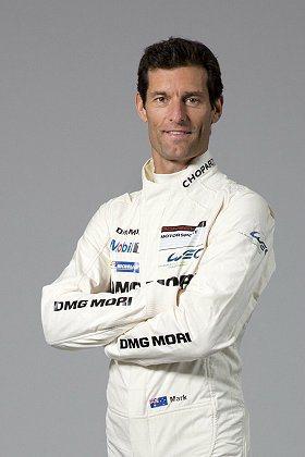 擁有豐富F1經驗的Mark Webber。 保時捷提供