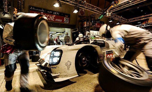後勤團隊的效率相當重要。 Le Mans官方提供