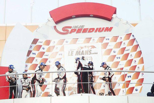 AAI車隊囊括GT組頒獎台。 TEAM-AAI提供