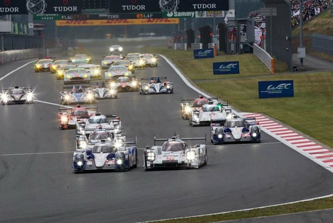 WEC日本站由Toyota拿下前兩名。 WEC提供