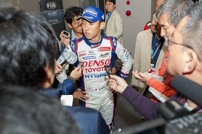 Toyota奪冠功臣之一的日本年輕車手中島一貴。 WEC提供