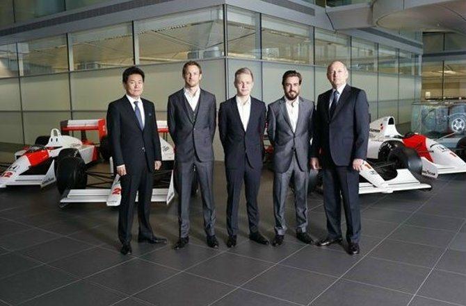 McLaren車隊與Honda的合作,對2015賽季深具信心。 F1官網