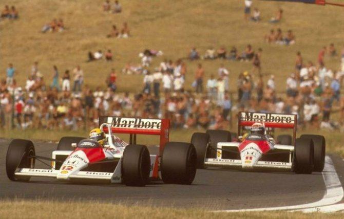1988年McLaren-Honda所打造的MP44賽車,所向披靡。 F1官網