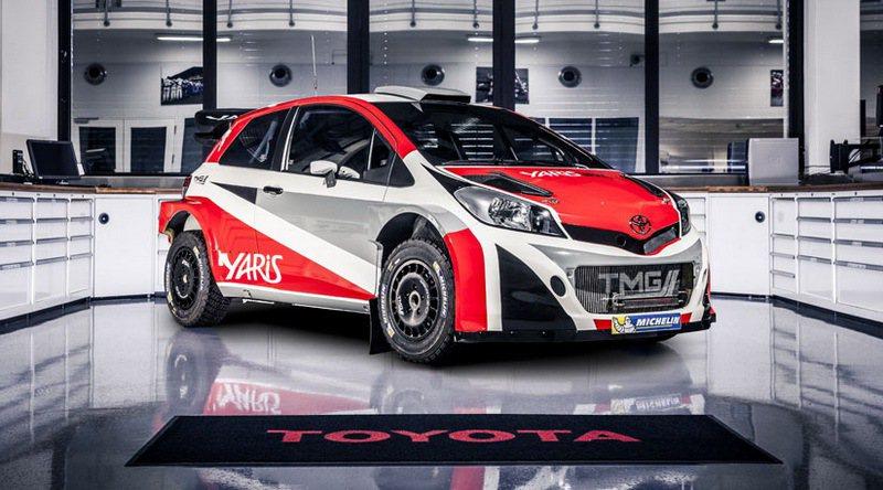 Toyota為2017年出戰WRC,以Yaris為基礎打造全新的Yaris WRC。 Toyota提供