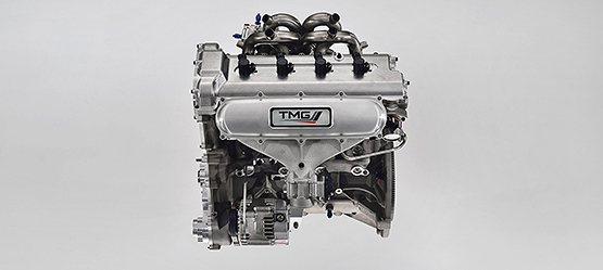 Yaris WRC搭載1.6升渦輪增壓缸內直噴引擎,最大馬力300hp。 Toyota提供