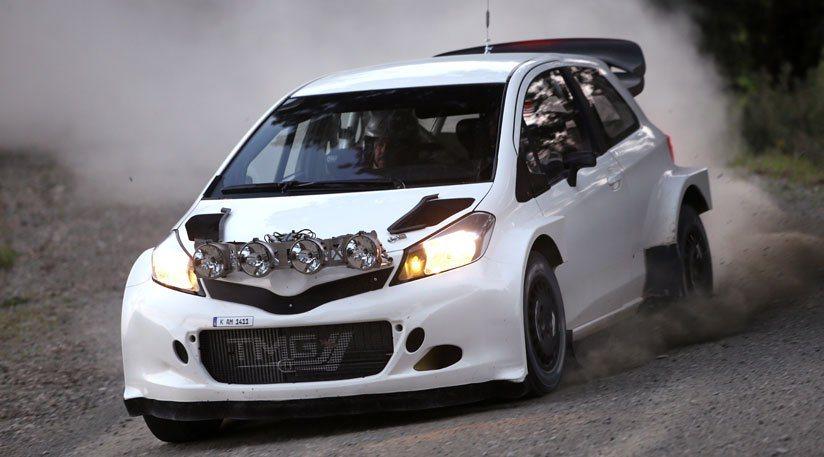 Yaris WRC由豐田TMG位於德國科隆的技術中心加以研發打造,這台車已在歐洲完成初步的柏油路面與碎石路面測試。 Toyota提供