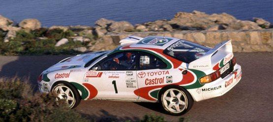 1994 年Toyota再以Celica GT-4奪冠。 Toyota提供