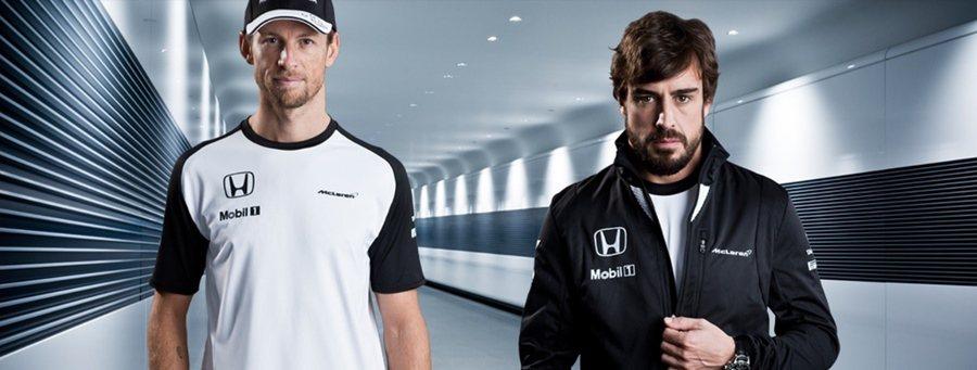 McLaren和Honda再度攜手,兩位車手也穿上全新隊服。 McLaren Honda提供