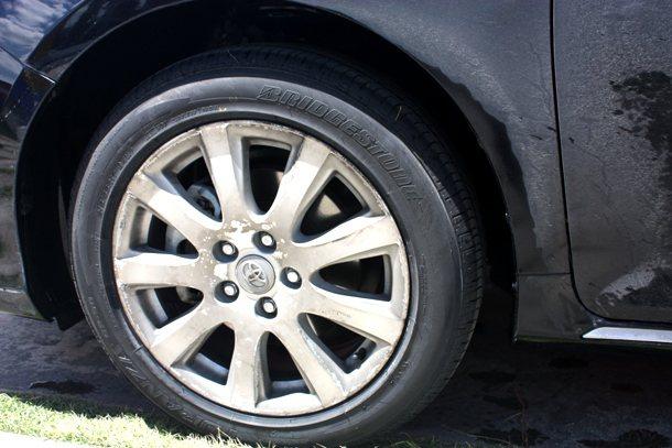 Bridgestone GR90輪胎做為測試比較。 林和謙
