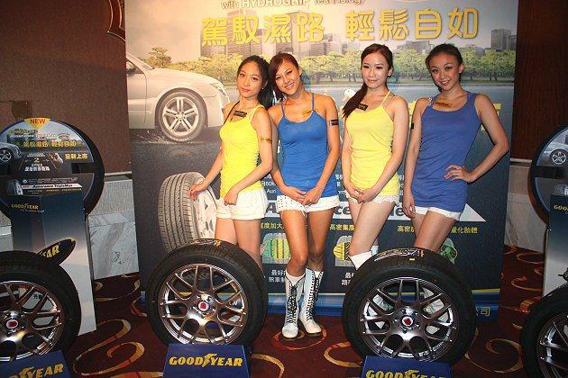 固特異輪胎13日發表Assurance TripleMax新胎。 記者林和謙/攝影