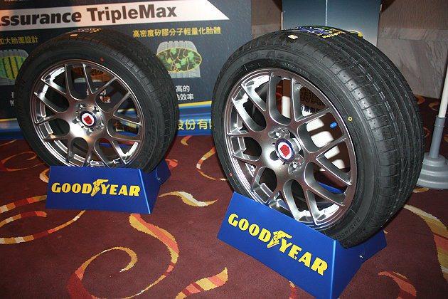 與其他競品同級產品相比,Assurance TripleMax在80km/h到20km/h的煞車距離可減少2公尺。 記者林和謙/攝影