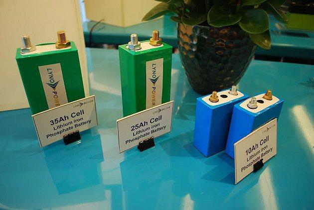 蘭陽能源科技也已開發各種不同功率的電芯。 記者趙惠群/攝影