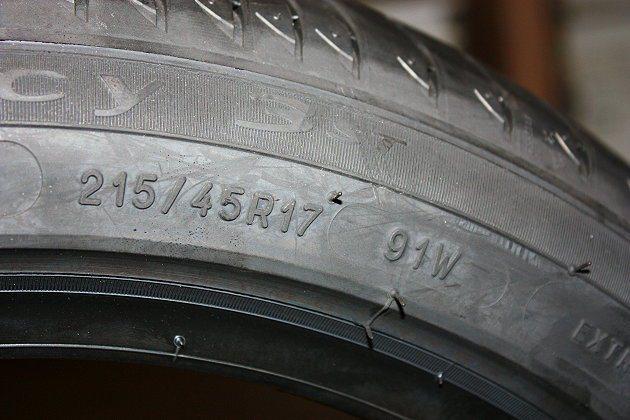 輪胎規格辨識也有學問。 記者林和謙/攝影