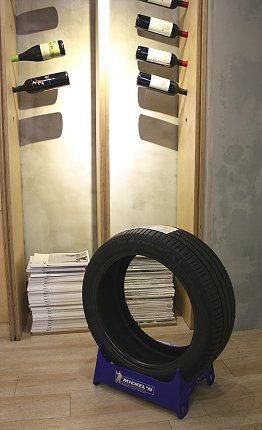 輪胎的構成除了橡膠,還包括200多種的原物料以及20種的半成品。 記者林和謙/攝影