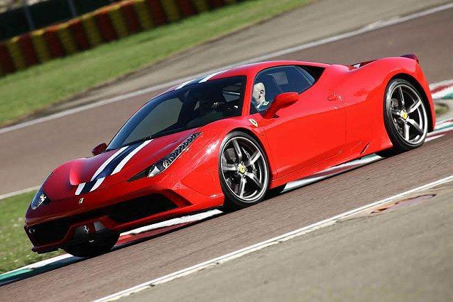 Ferrari旗下最新款超級跑車458 Speciale將全新MICHELIN ...