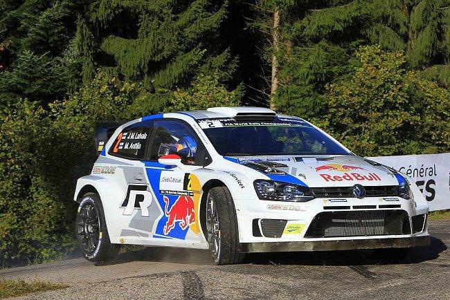 MICHELIN Pilot Sport H4 / S4競技專用輪胎為Jari-Matti Latvala所駕駛的VW Polo R WRC賽車提供雄厚支援與絕佳優勢。 MICHELIN提供