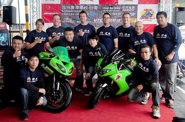 California Superbike School教練群將在今年再度與恆典教...