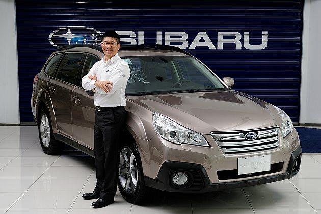 Subaru台灣意美汽車總經理司徒國明先生榮升意美汽車集團首席營運長。 Suba...