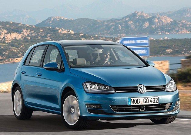 Golf Mk7以94.8萬起預購起跑。 VW