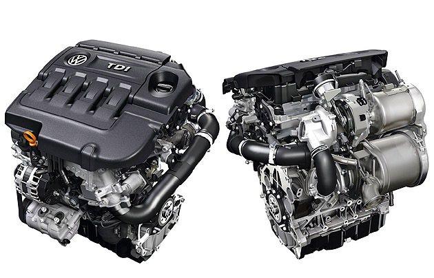 TDI柴油引擎效能更提升。 VW