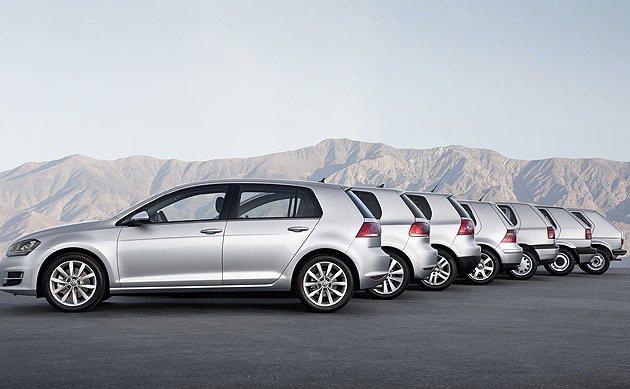 一到七代,都是經典。 VW