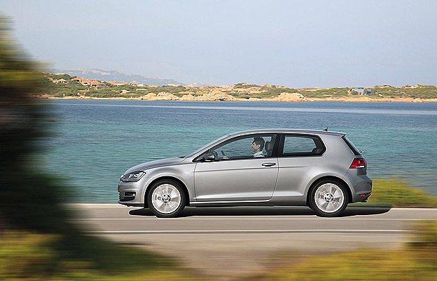 Golf Mk7因為新底盤的關係,車幅稍微調整。 VW