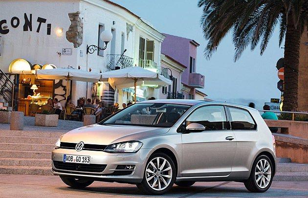 Golf Mk7首波預購兩百台。 VW