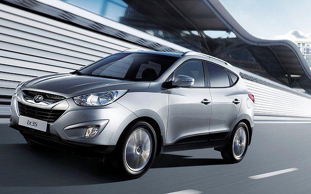 Hyundai針對ix35 2.4L 4WD旗艦款推出優惠總價值達9萬元專案。 ...