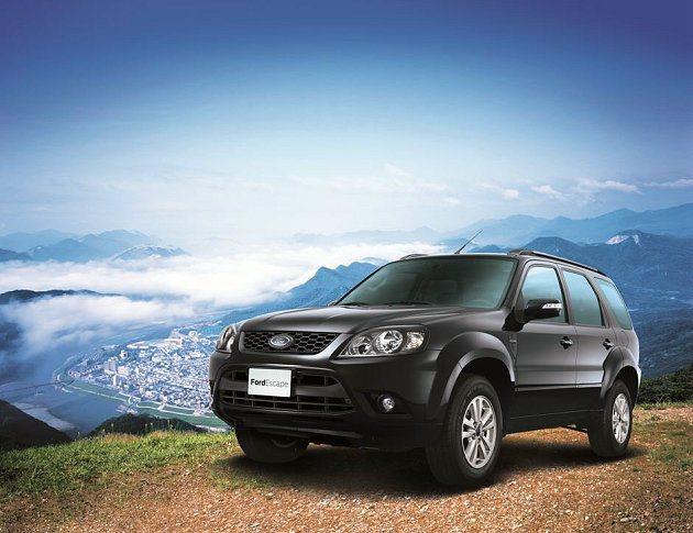 累績銷售超過13萬輛的Ford Escape,搭載具有豐沛動力的2.3L反置式D...