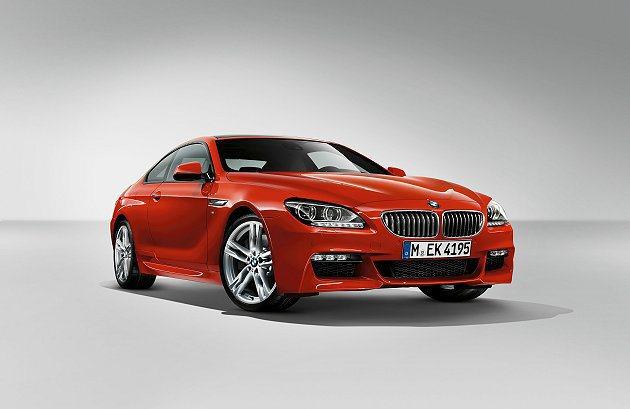 全新BMW 6系列雙門跑車加裝M Sport Edition專屬套件。 BMW