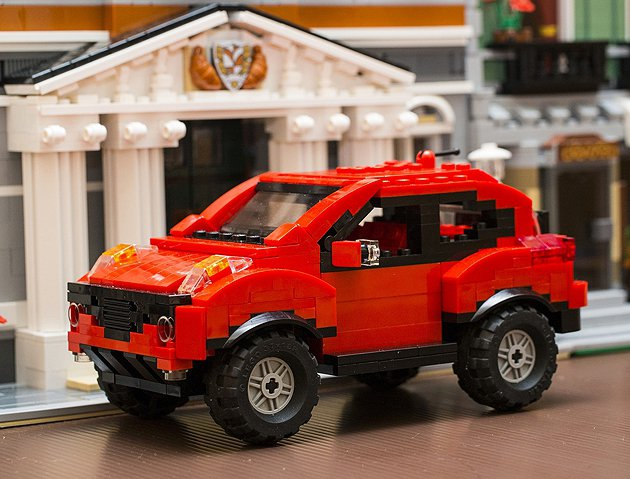 Juke原生創作積木模型車 Nissan