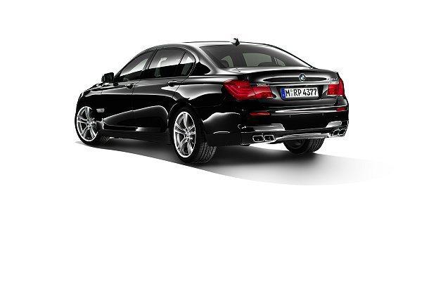BMW 7系列加裝品,尾管升級改裝套件組。 BMW提供