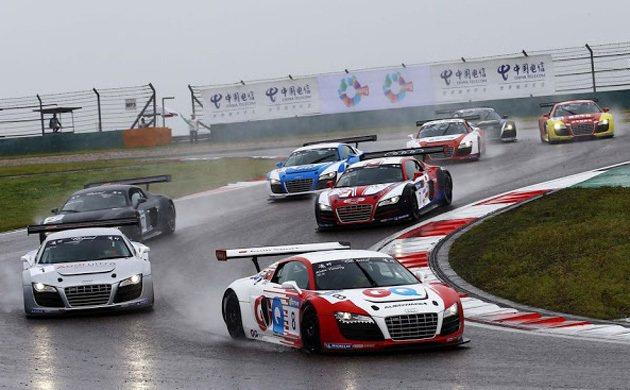 R8 LMS Cup賽車 Audi