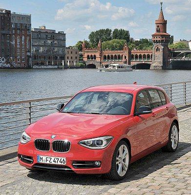 全新BMW 1系列五門掀背跑車Sport Line。 BMW提供