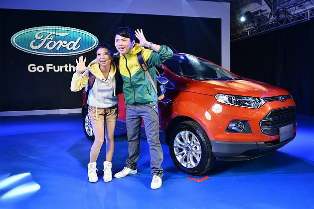 都會輕休旅Ecosport驚艷登場,69.9萬元起,享有嶄新休旅風格。 Ford...