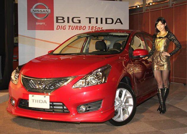 Nissan Big Tiida Turbo版是國產同級車中率先搭載缸內直噴渦輪...