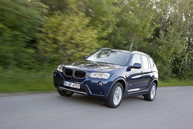BMW X3系列也推優質優惠。 BMW提供