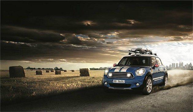 汎德更針對MINI Countryman車款推出頭款19.9萬起優惠專案。 MI...