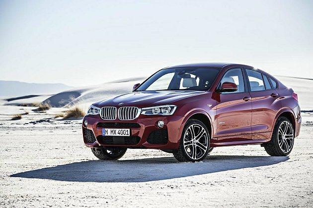 全新BMW X4 預售價公佈。 BMW提供