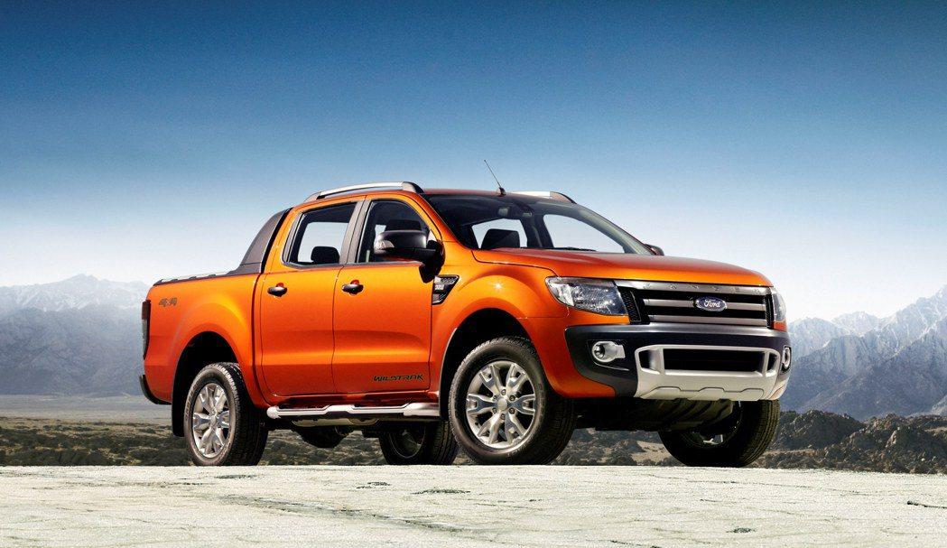 Ford Ranger新年式剽悍到港。 FORD提供