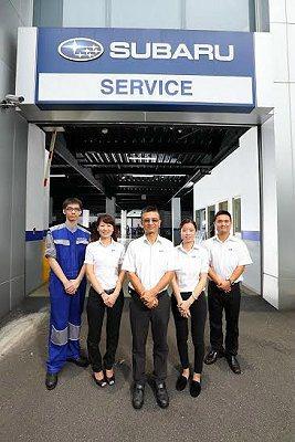 回廠車輛都將有SUBARU親切的人員接待,並由專業技師細心進行相關檢查和維修服務。 SUBARU提供