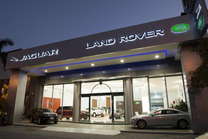 Jaguar Land Rover台南展示暨服務中心。 九和汽車提供