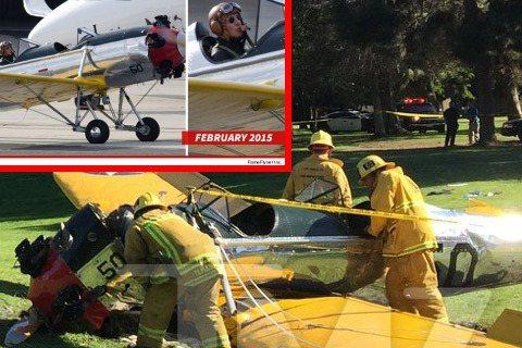 一架小飛機於洛杉磯墜毀,據TMZ網站報導,飛機擁有者為飾演「星際大戰」、「法櫃奇兵」系列電影的好萊塢演員哈里遜福特(Harrison Ford)的自駕小飛機。照片中小飛機機頭已毀,有傳72歲的哈里遜...