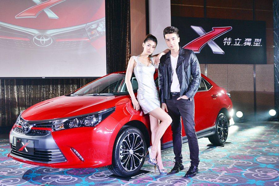 3月31日總代理和泰汽車再推出造型與內裝更吸睛的X車型,標榜「特立獨型」,融入更...
