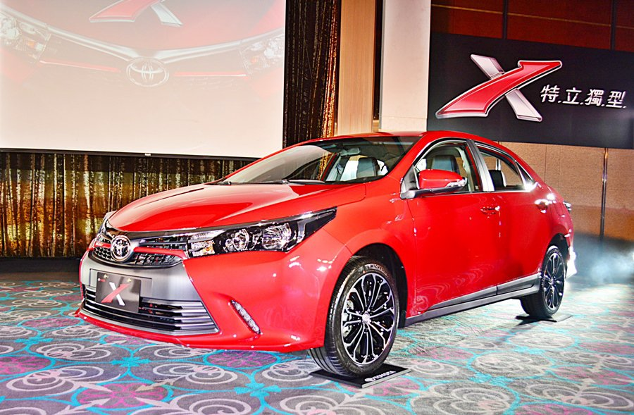 Toyota X係由製造廠國瑞汽車設計中心所創作洋溢戰鬥氣息的特仕車,全車融合類...